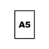 A5 (or smaller)